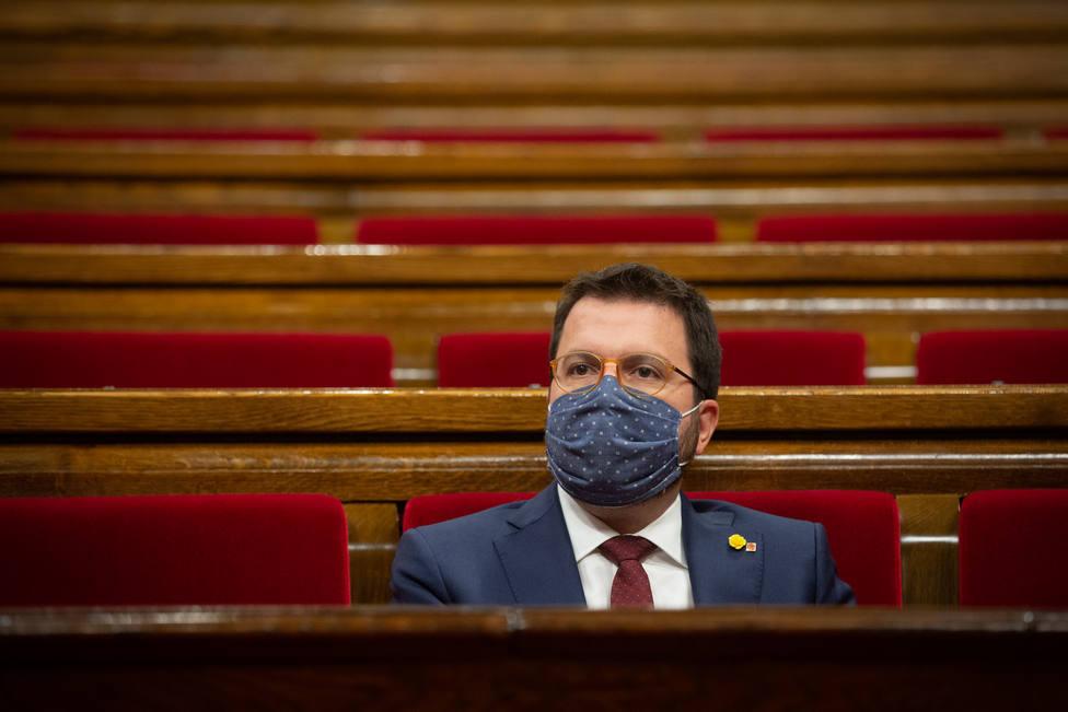 Aragonès no asistirá el viernes al acto del Rey de apoyo a las empresas catalanas