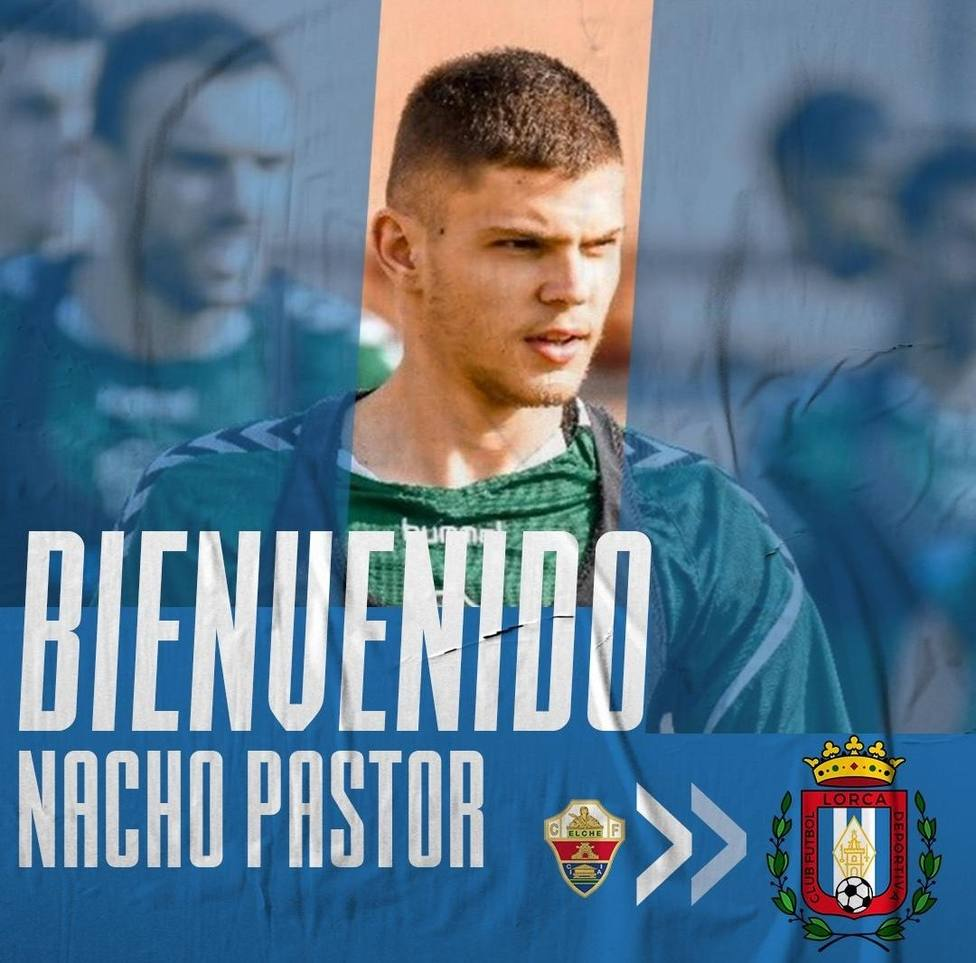 El CF Lorca Deportiva ficha a Nacho Pastor, central del Ilicitano