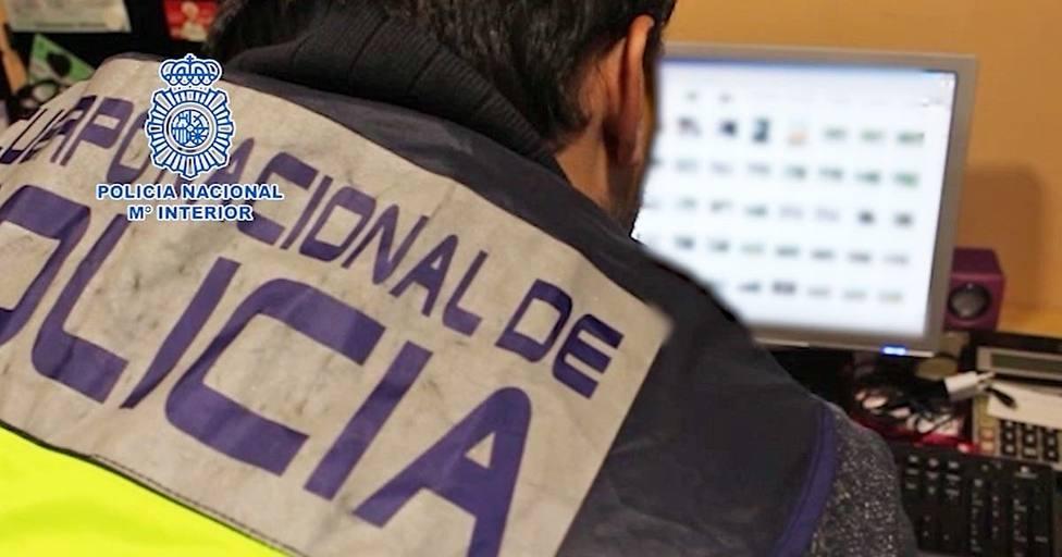 Operación de la Policía Nacional contra la pedofilia. Imagen de archivo