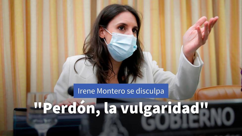 La expresión de Irene Montero por la que se ha visto obligada a pedir disculpas: Perdón por la vulgaridad