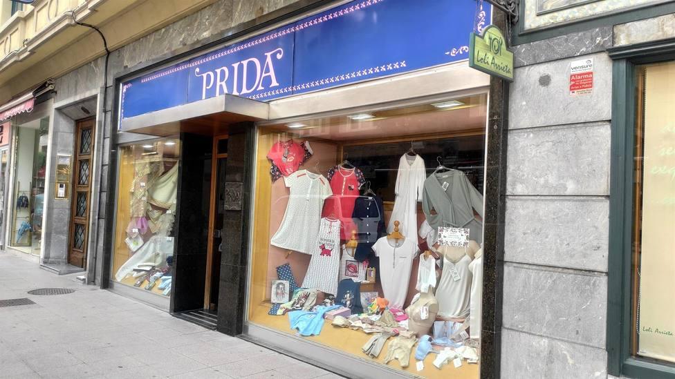Pequeño comercio en el centro de Oviedo