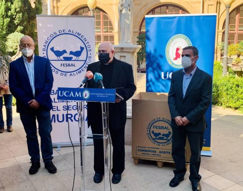 La UCAM organiza 'Navidad Solidaria 2020' a favor del Banco de Alimentos