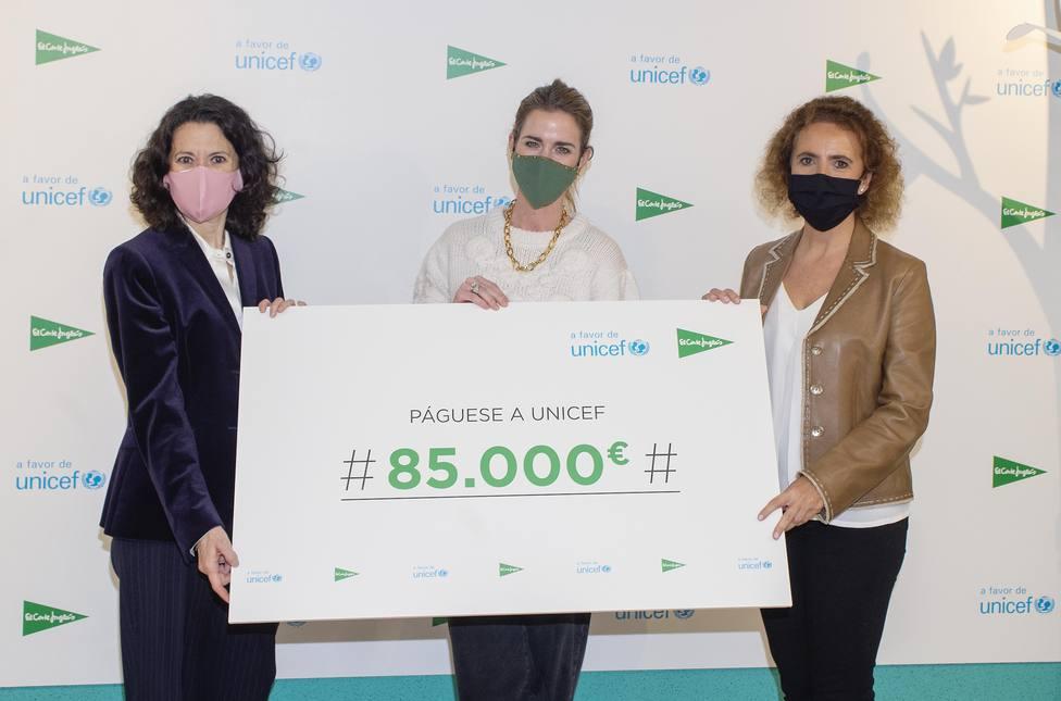 El Corte Inglés entrega 85.000€ a UNICEF gracias a los Juguetes Solidarios
