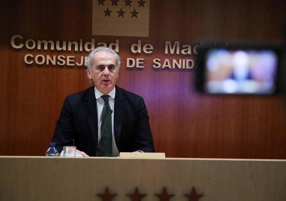 La Comunidad de Madrid notifica 1.412 nuevos positivos y 14 fallecidos en las últimas 24 horas