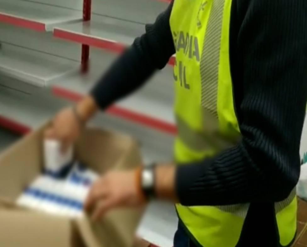 Investigación de venta de test ilegales. Foto: Guardia Civil (archivo)