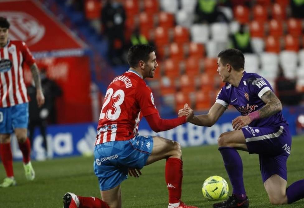 Momento del Lugo - Sporting