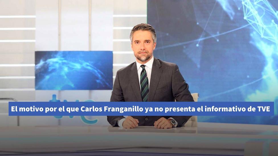 Sale a la luz el motivo por el que Carlos Franganillo ya no presenta el informativo de TVE