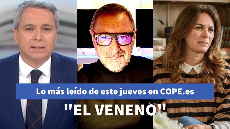 La definición de Herrera para Iglesias tras el rótulo de TVE, entre lo más leído de este jueves