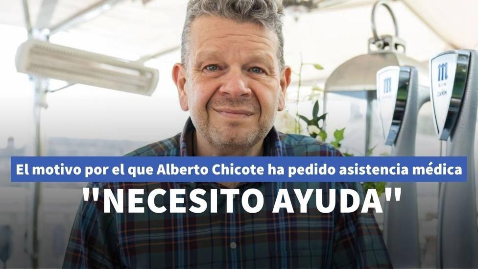 El motivo por el que Alberto Chicote se ve obligado a pedir asistencia médica: Necesito ayuda