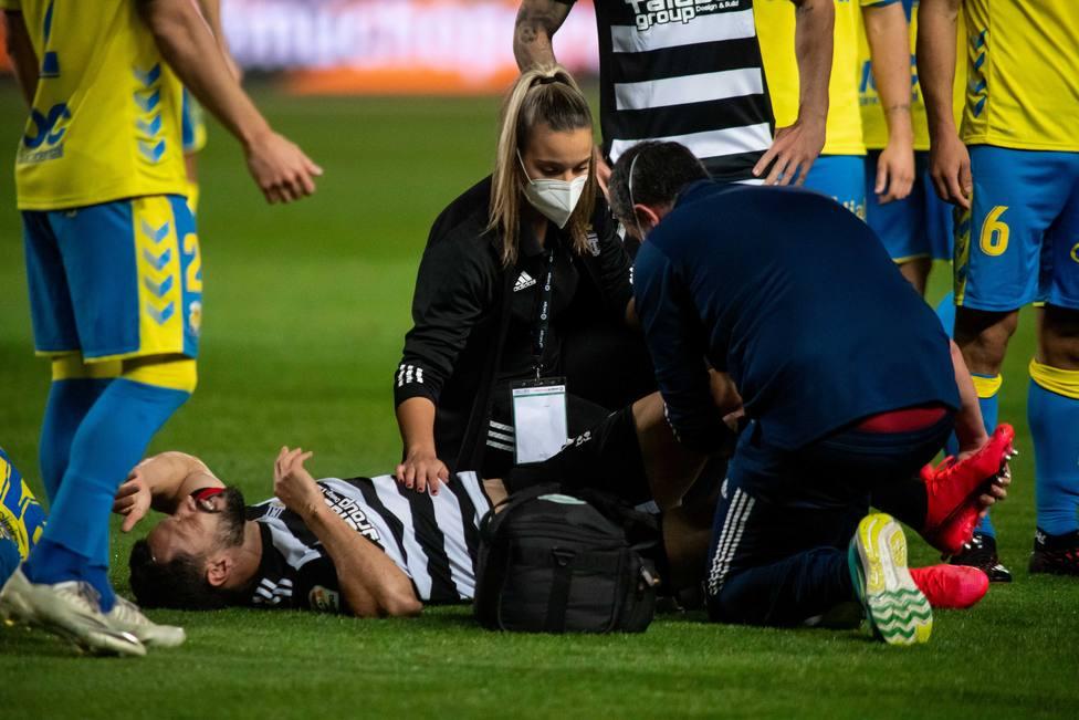 Una lesión frena a De La Bella
