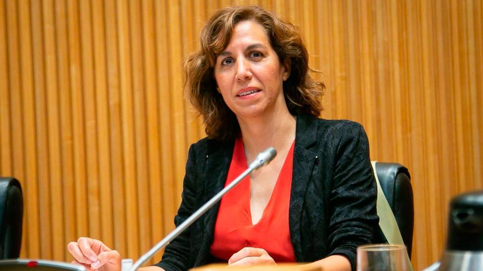 Irene Lozano, presidenta del Consejo Superior de Deportes (FOTO: CSD)