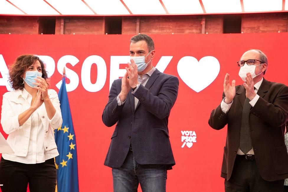 Pedro Sánchez evita mencionar a Díaz Ayuso en el arranque de la campaña electoral