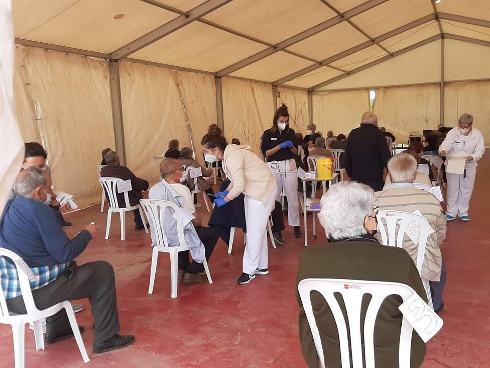 Continúa la vacunación en La Ribera de Cabanes