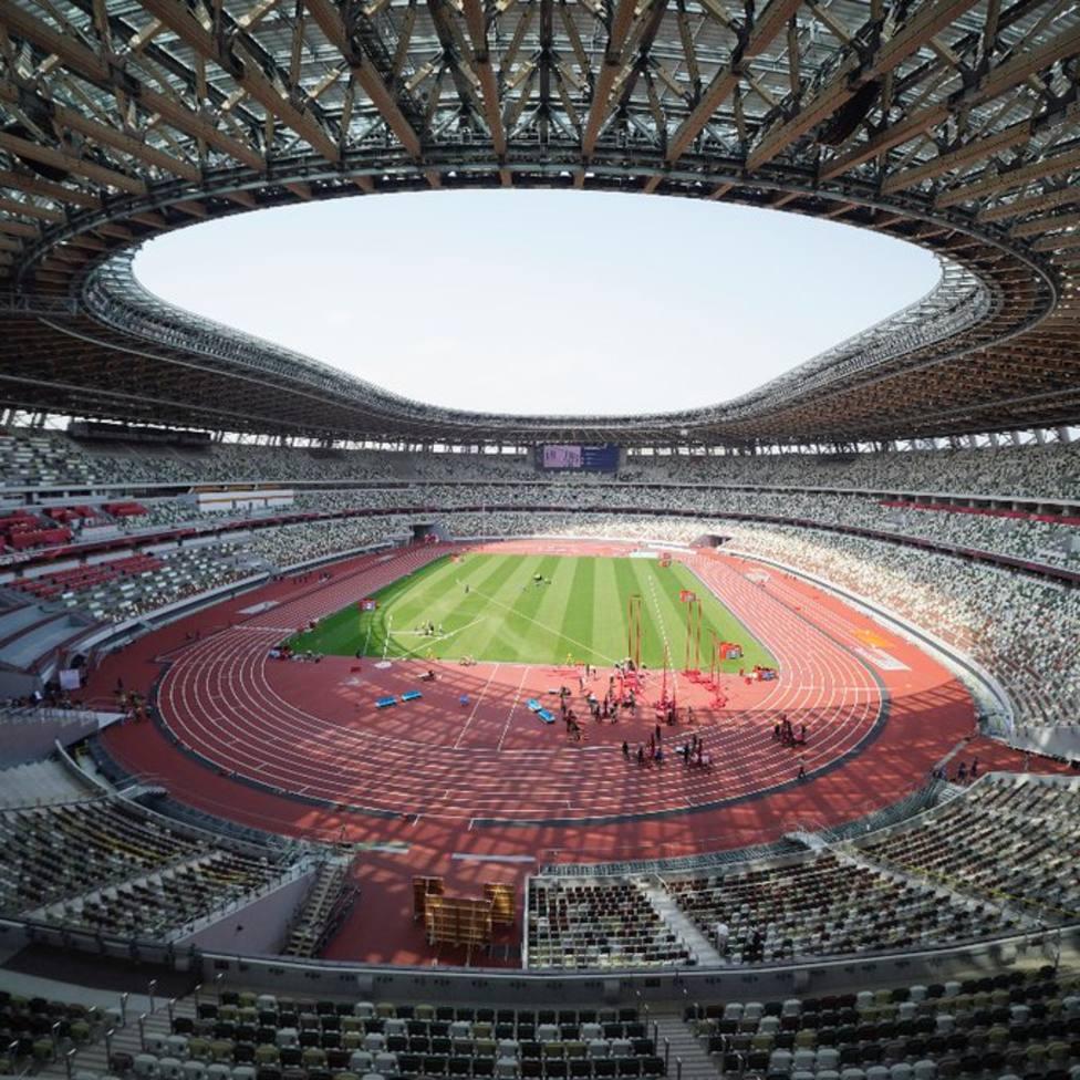 Estadio atletismo Tokio