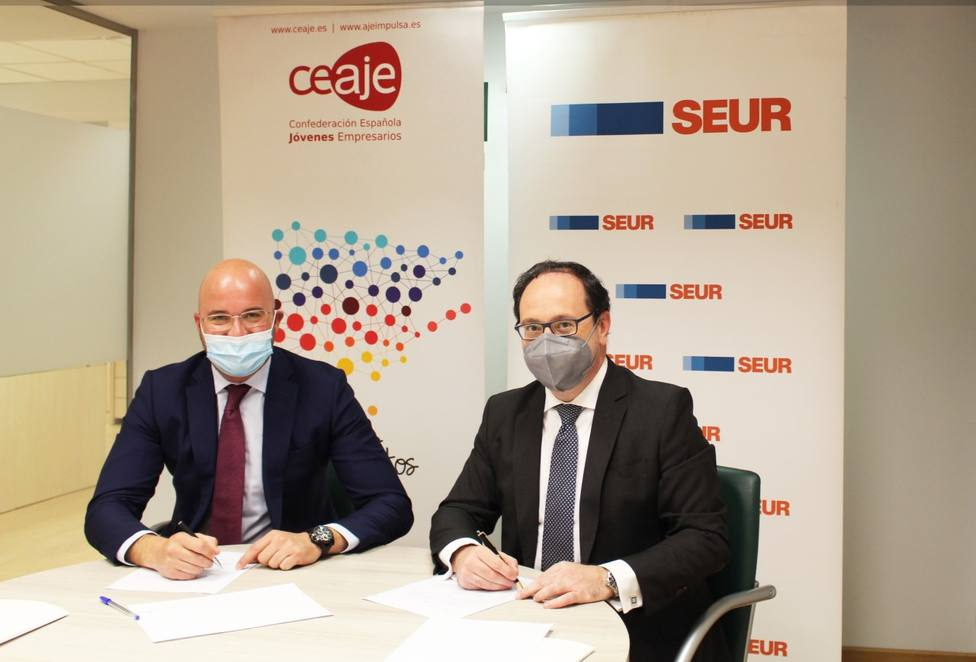 SEUR muestra su apoyo a los jóvenes empresarios con un acuerdo de colaboración con CEAJE