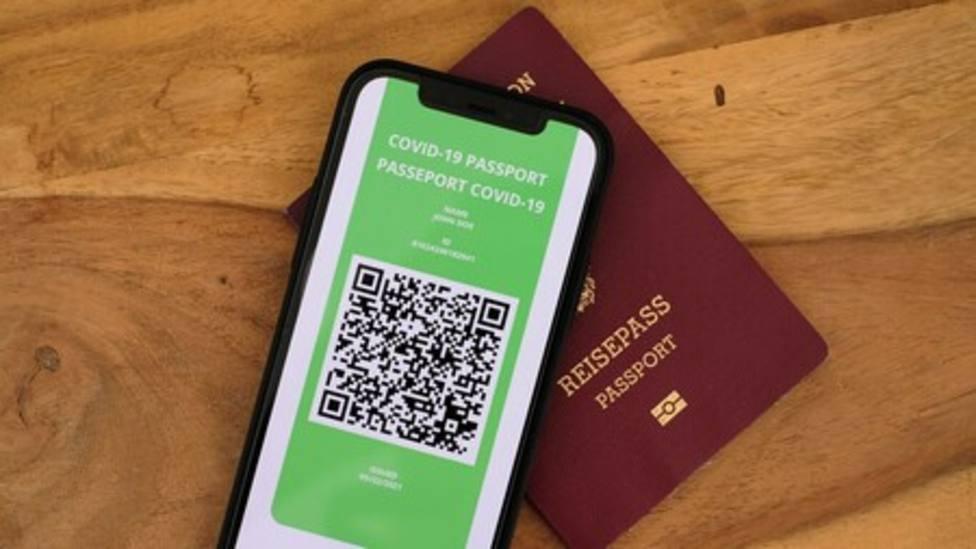 el pasaporte covid llegará en unos días a la región