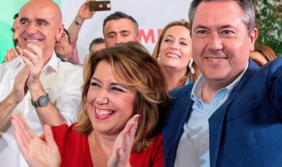 José Manuel Soto consigue el momento imposible entre Susana Díaz y Espadas: La Feria...