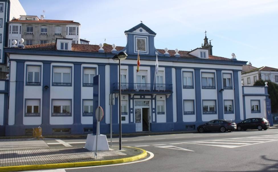 Fachada del edificio de la Autoridad Portuaria de Ferrol - San Cibrao - FOTO: Cedida