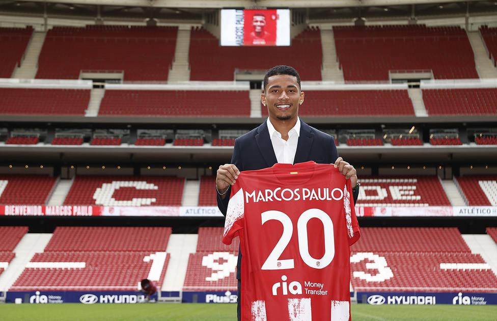 Marcos Paulo lucirá el dorsal 20