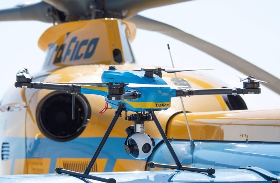 La DGT distribuye los 39 drones que vigilarán las carreteras españolas este verano
