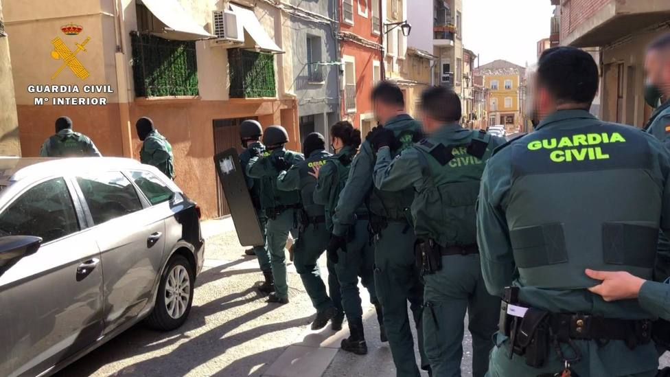 Detenidas siete personas y desmantelado el principal punto de venta de droga a menores en Calahorra (La Rioja)