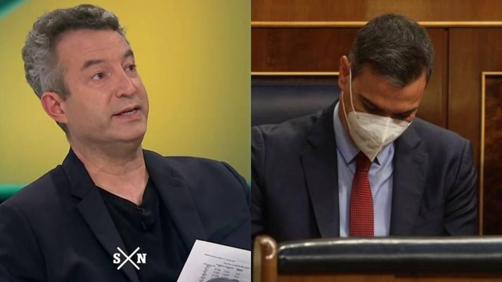 César Carballo y Pedro Sánchez
