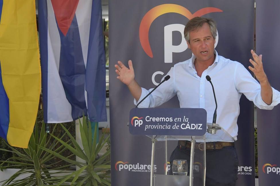 González Terol afirma que Sánchez está obligado a ayudar a que se instaure la democracia en Cuba y Venezuela