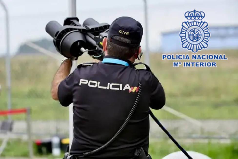Así controla la Policía Nacional los vuelos ilegales de drones en Almería