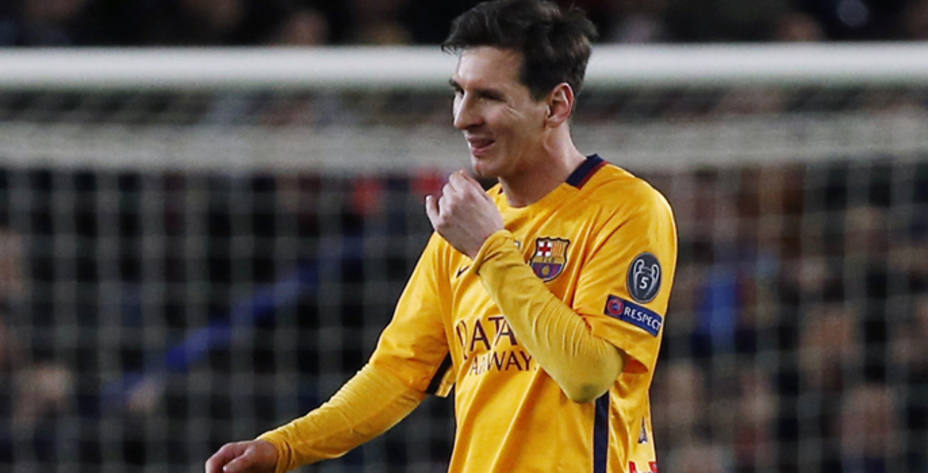 El bajón de Leo Messi se debe a sus problemas musculares y de espalda (Reuters)
