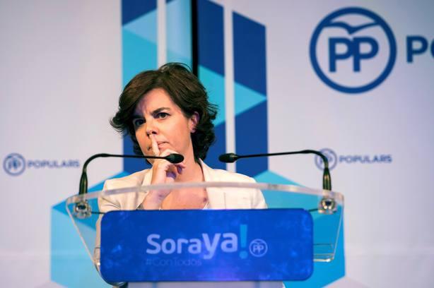 Santamaría se uniría a la candidatura Cospedal sin problema en la segunda vuelta