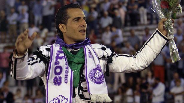 El recordado Iván Fandiño en una de sus últimas salidas a hombros de la plaza de toros de Guadalajara