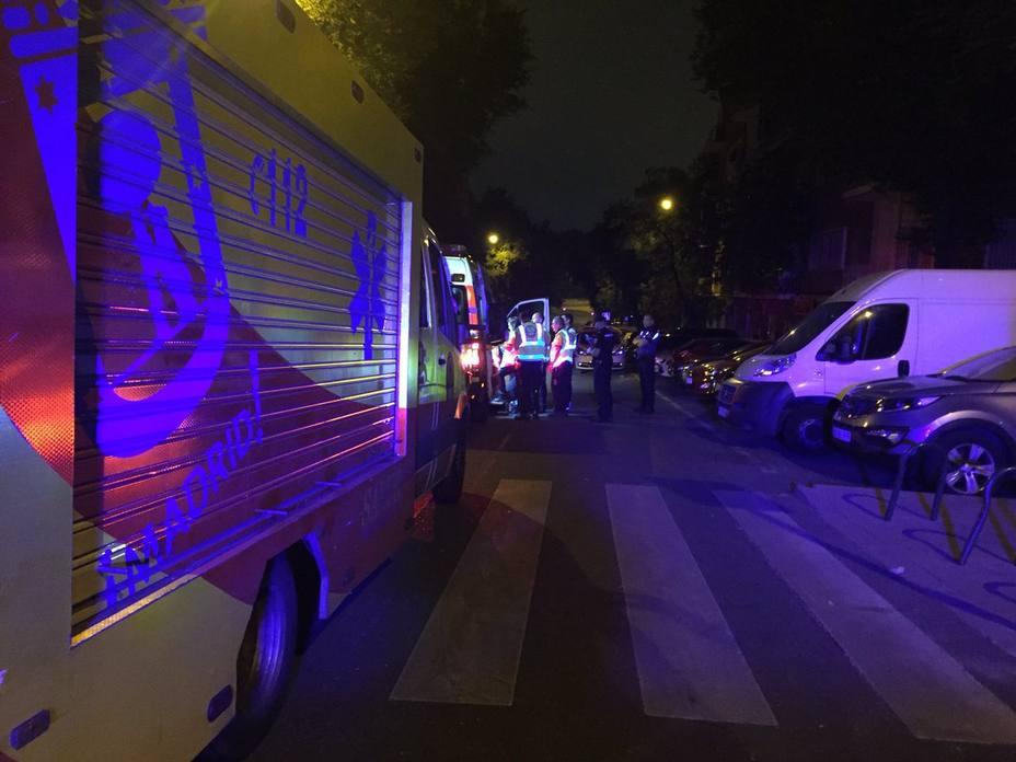 Un joven herido muy grave tras recibir cinco puñaladas en Madrid