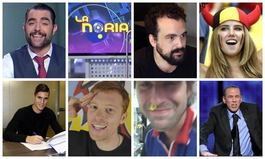 Dani Mateo, programa La Noria, Nacho Vigalondo, Sergi Guardiola, Jpelirrojo, Axelle Despiegelaere, Michael Set