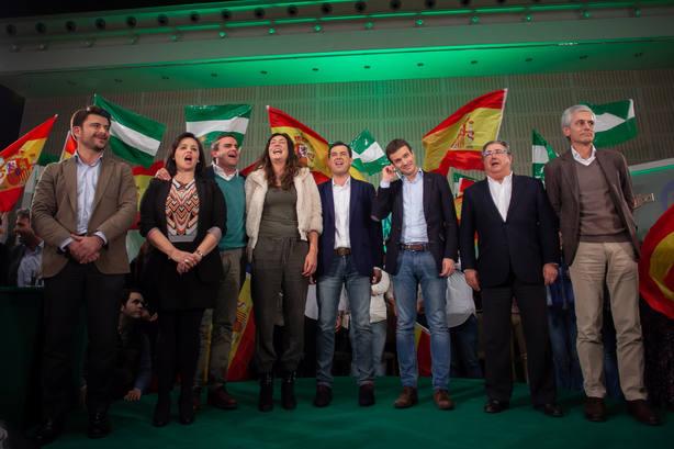 Casado, García Egea y Maroto ya están en Génova para seguir el recuento electoral de las andaluzas