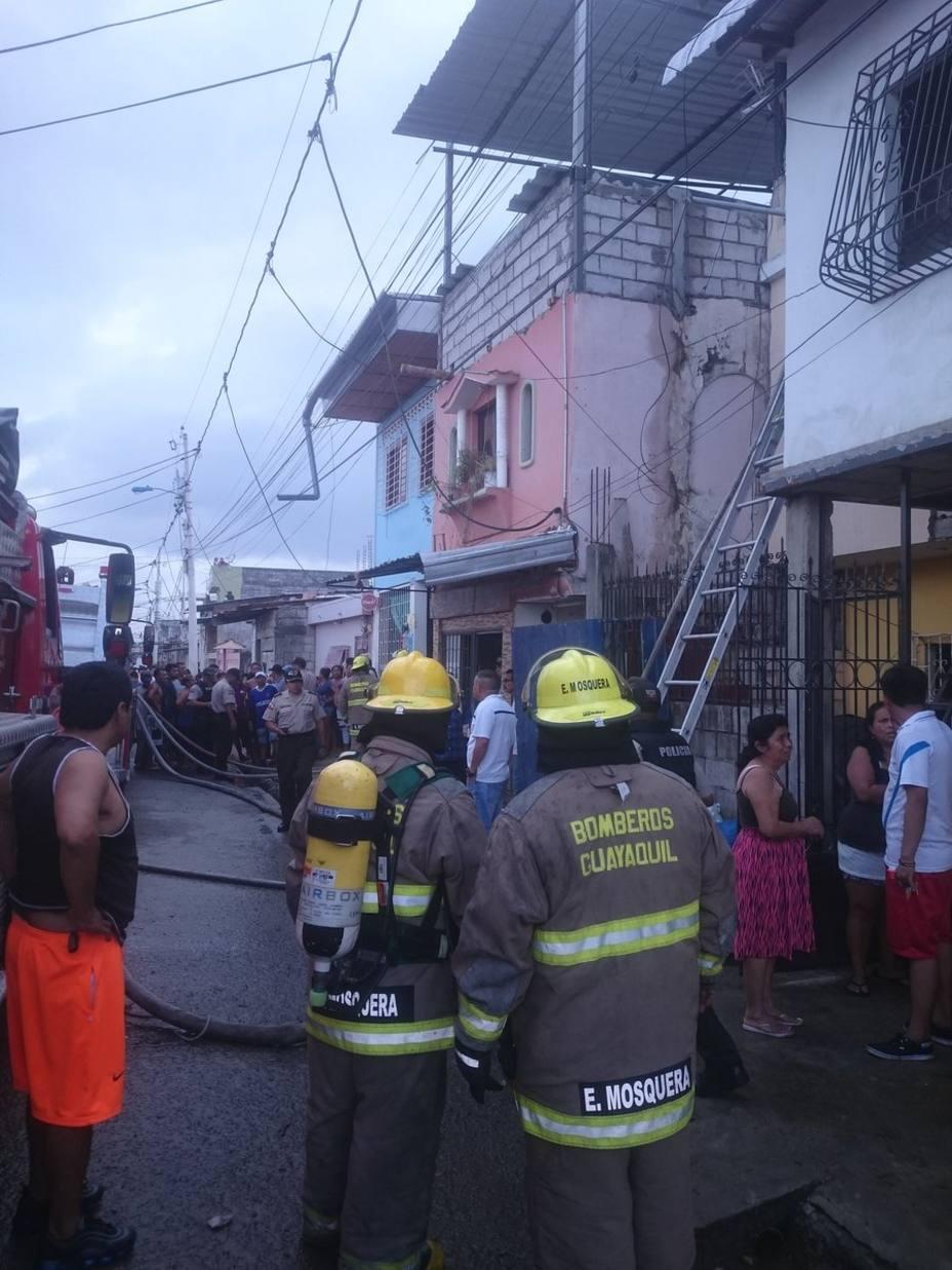 Un incendio causa 18 muertos en la ciudad ecuatoriana de Guayaquil