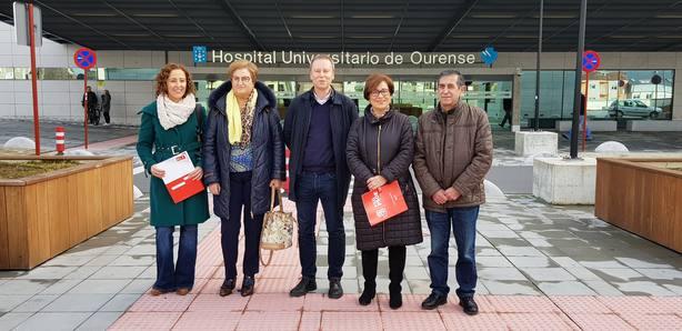 El PSOE reclama Hemodinámica 24 horas en Ourense