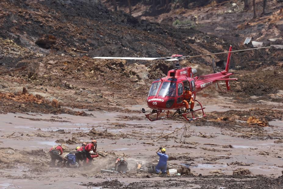 Ya son 150 los muertos por la rotura de la presa de Brumadinho en Brasil