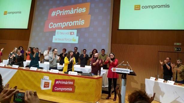 Oltra anuncia su candidatura a la presidencia de la Generalitat en las primarias de Compromís: Sería un orgullo