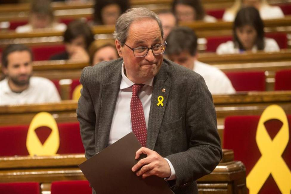 El TC declara inconstitucional la ley catalana de investiduras a distancia