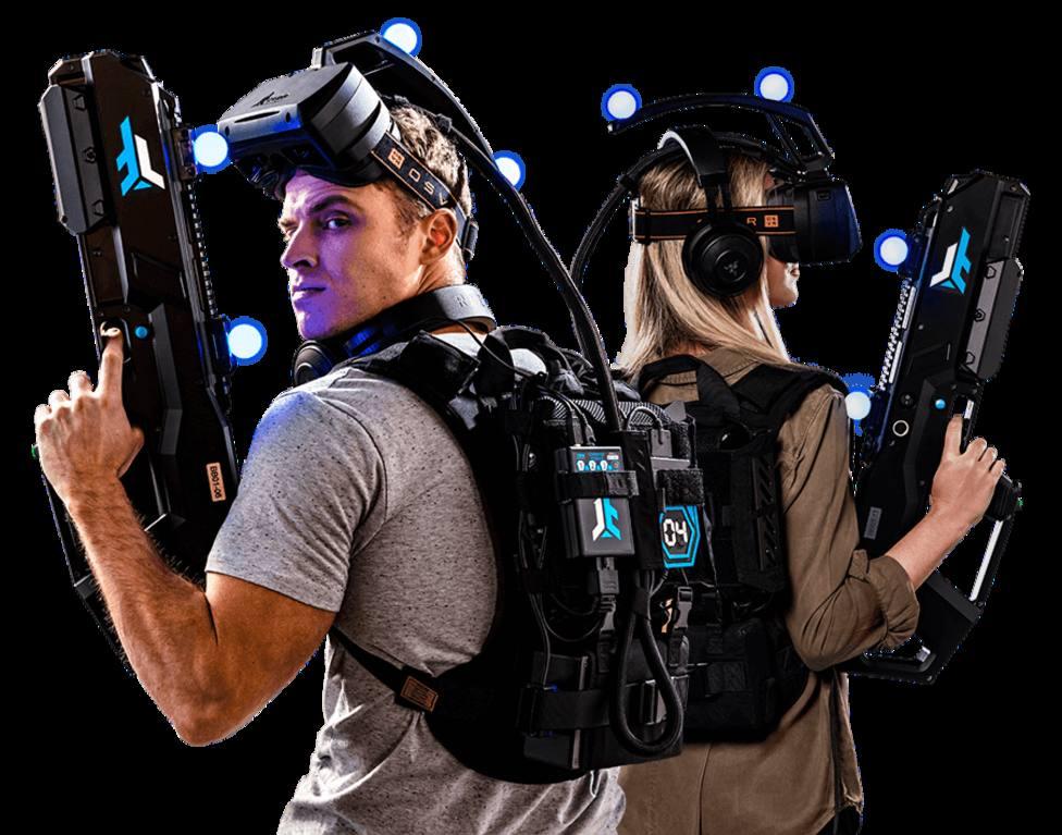 Zero Latency, realidad virtual llevada al extremo