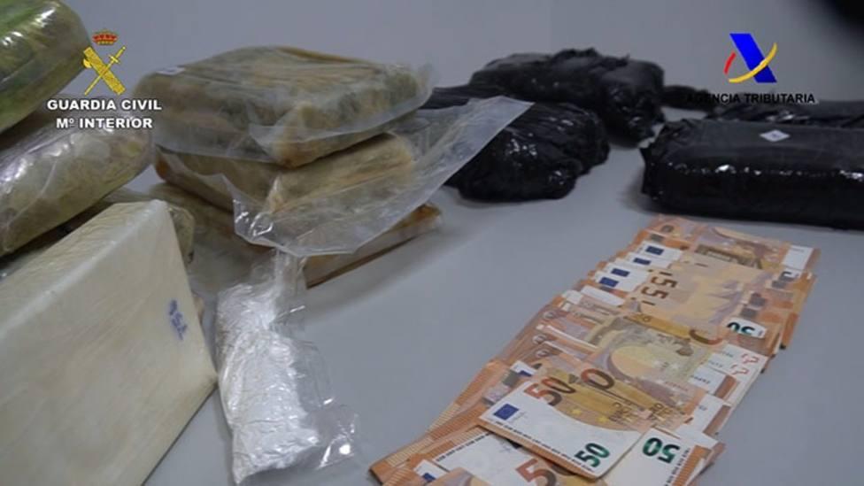 Detenida una persona en Huelva cuando pretendía embarcar con 18 kilos de cocaína