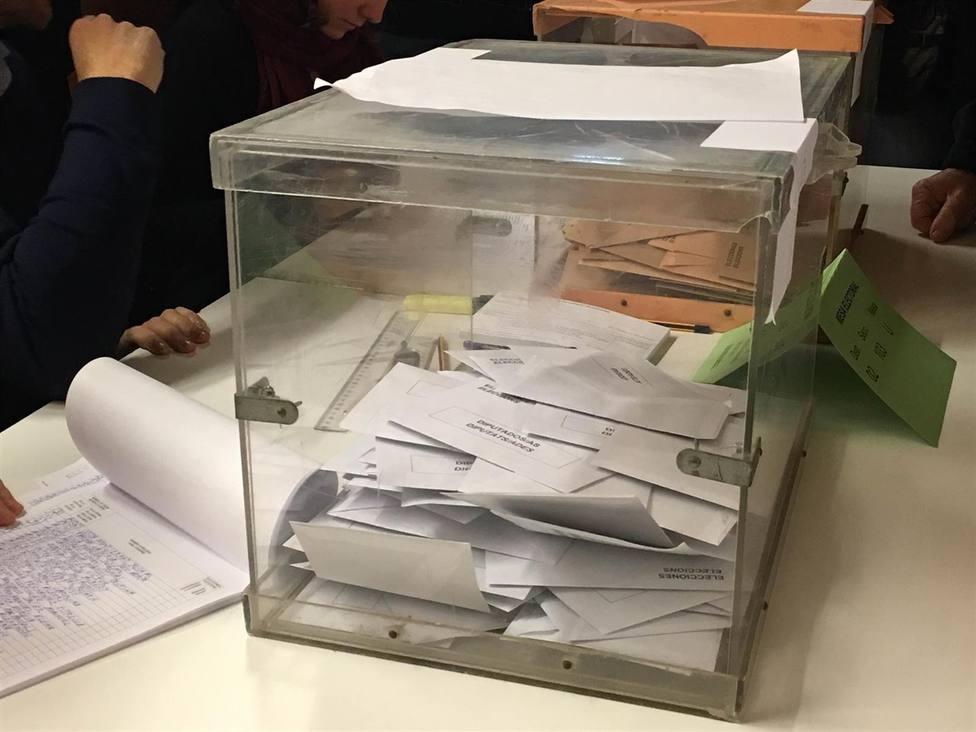 Urna electoral - FOTO: Europa Press