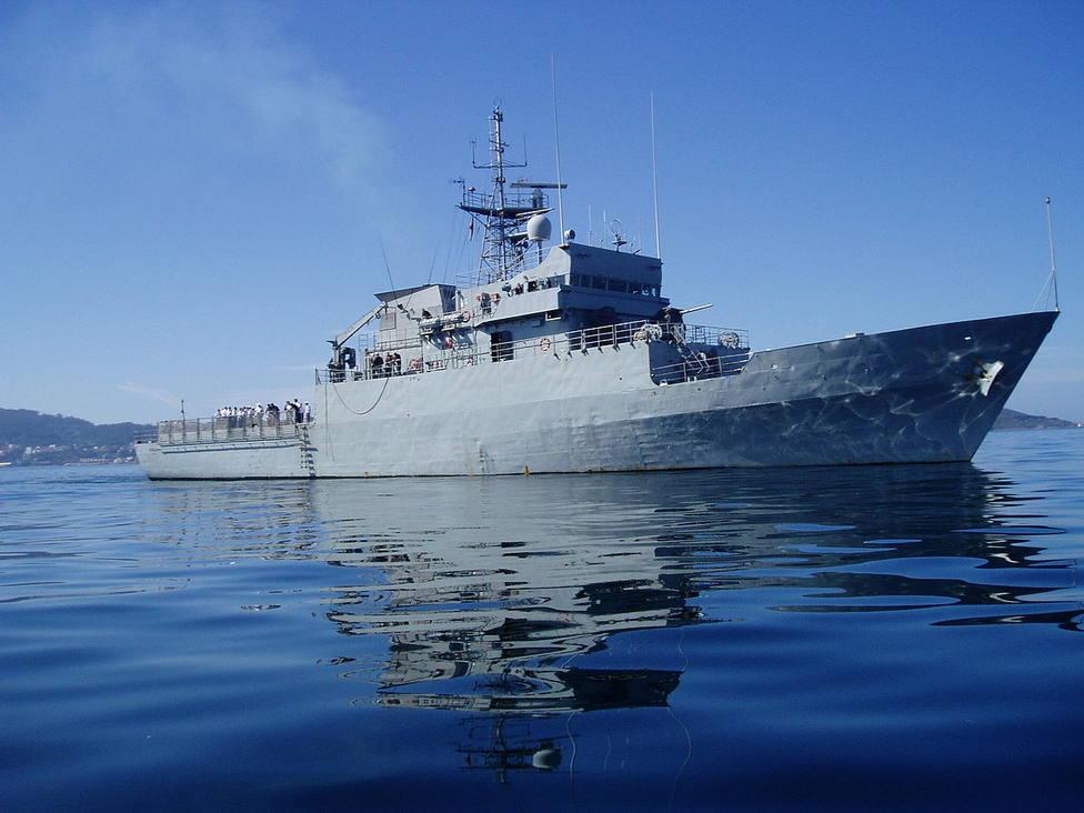 Imagen de archivo del buque Atalaya que tiene su base en el Arsenal Militar de Ferrol