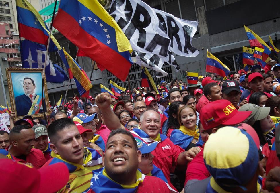 El chavismo responde a los temores de Guaidó: Nada ni nadie nos detendrá