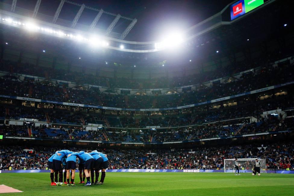 Real Madrid and FC Barcelona at Estadio Santiago Bernabeu in Madrid, Spain - 02 Mar 2019