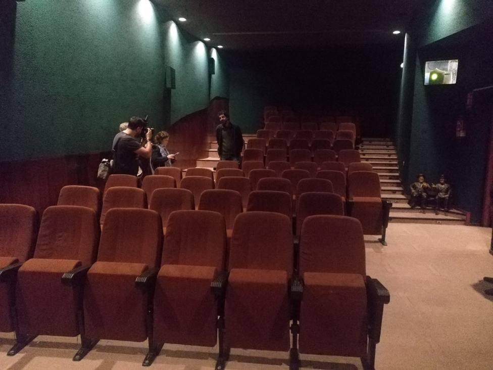 Las salas de los cines Dúplex, ubicadas en el barrio de Esteiro