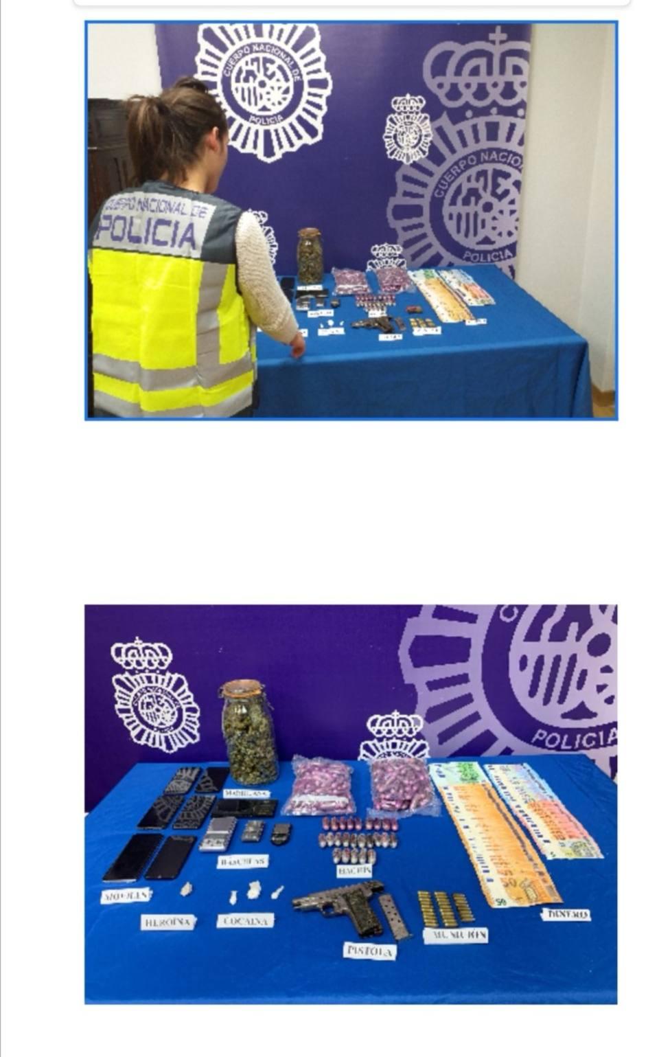 Ocho detenidos y diez kilos de hachís intervenidos en una operación policial en Lugo