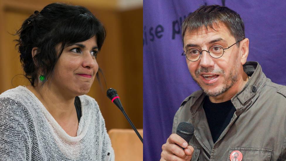 El tremendo enganchón entre Teresa Rodríguez y Monedero por el caso de los ERE