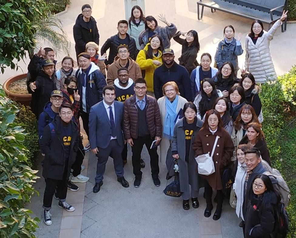 Una treintena de estudiantes chinos se incorporan a la UCAM esta semana