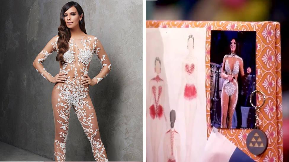 El plagio de Cristina Pedroche que un concursante de Maestros de la costura ha revelado